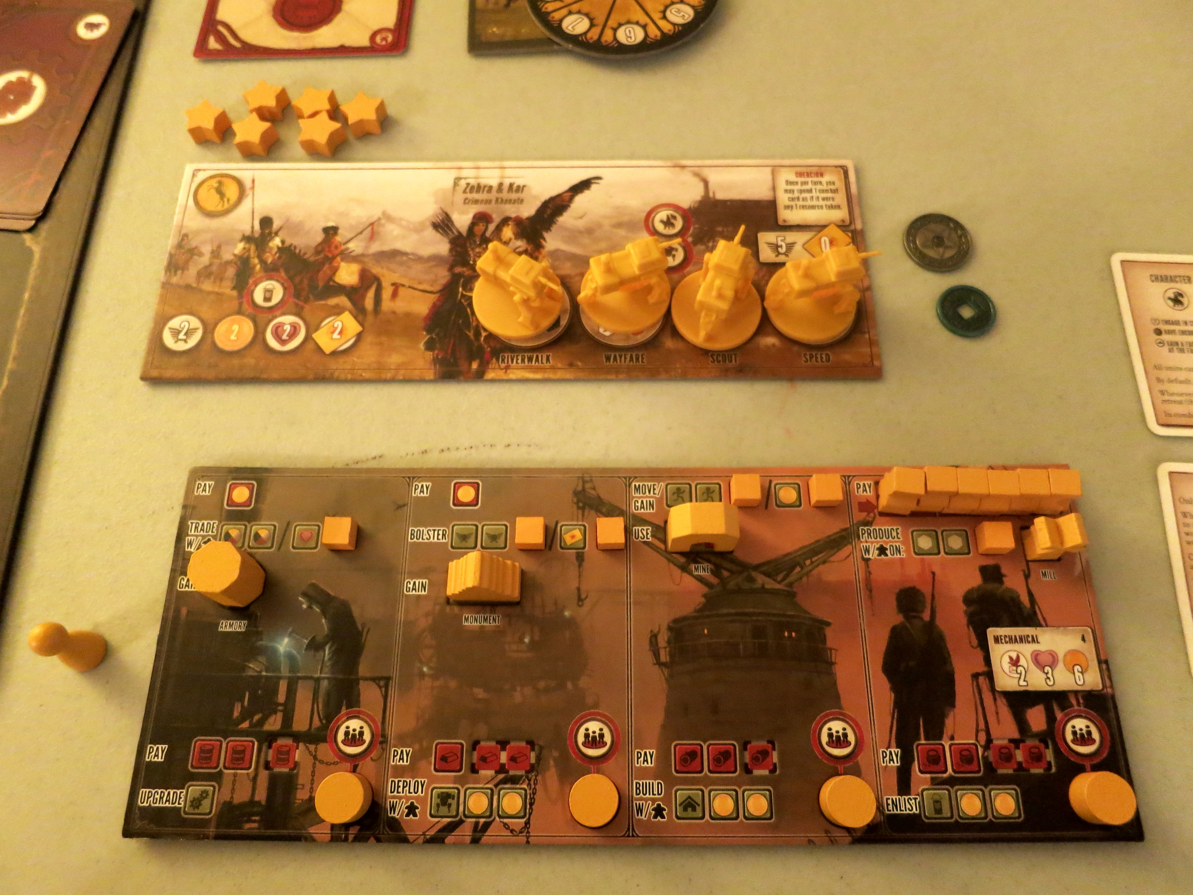 scythe board game how to play