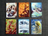 Base cards 6-10 and SF2.