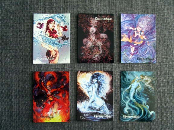 Base cards 16-20 and SF4.