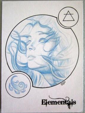 Wind sketch card by Sean Pence.