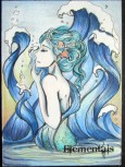 Water sketch card by Alexis Hill.