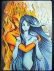 Fire and water AP by Alexis Hill.