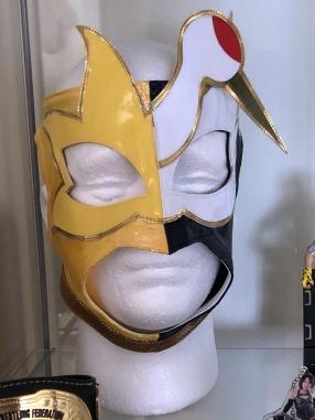 Mitsuru Konno replica Hero mask.